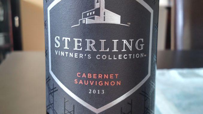 2013 Sterling Vineyards Vintner's Collection Cabernet Sauvignon