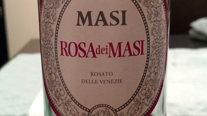 Bottle of 2015 Masi Agricola Rosa dei Masi