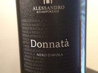Image of a bottle of 2014 Alessandro di Camporeale Donnata Nero d'Avola