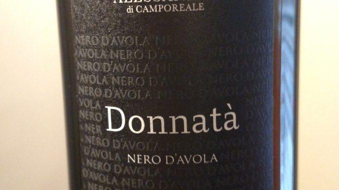 Image of a bottle of 2014 Alessandro di Camporeale Donnata Nero d'Avola