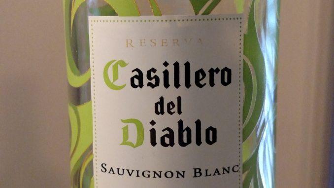 Image of a bottle of 2016 Concha y Toro Casillero del Diablo Reserva Sauvignon Blanc