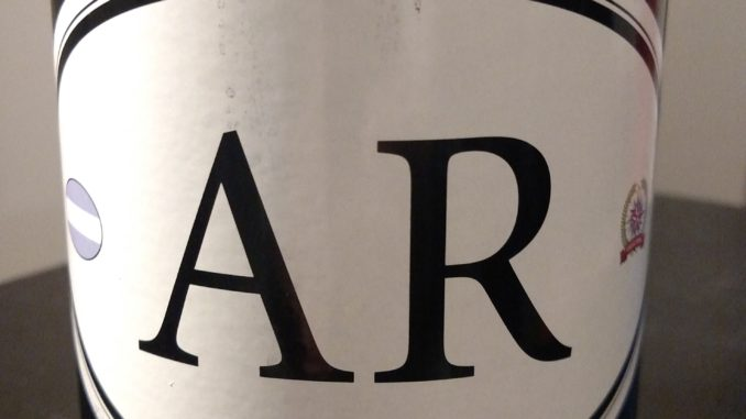 Image of a bottle of Locations Wine AR5