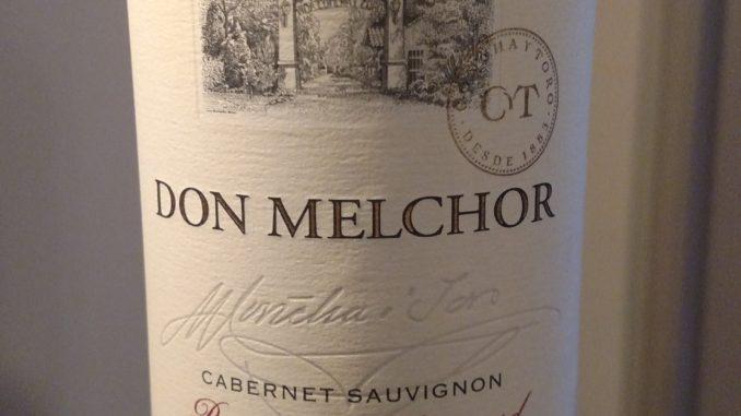 Picture of a bottle of 2013 Don Melchor Cabernet Sauvignon