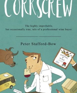 Photo of the cover of the novel Corkscrew