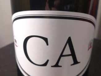 Picture of a bottle of Locations Wine CA4