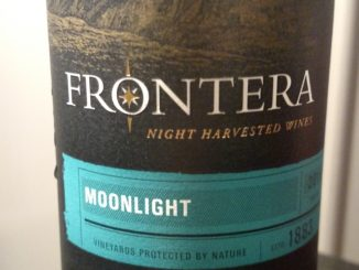 Picture of a bottle of Frontera After Dark Moonlight White