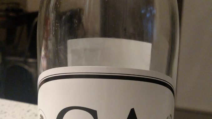 Bottle of CA4 White Wine from Locations Wine