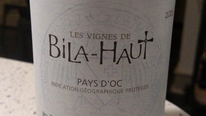 Photo of a bottle of 2016 Michel Chapoutier Les Vignes de Bila-Haut Pays d'Oc Rose'