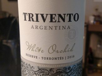 Picture of a bottle of 2016 Trivento White Orchid