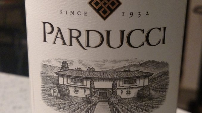 Image of a bottle of 2014 Parducci Small Lot Pinot Noir