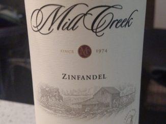 Image of a bottle of 2013 Mill Creek Zinfandel