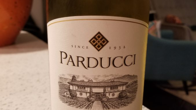 Image of a bottle of 2015 Parducci Small Lot Chardonnay