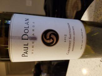 Image of a bottle of 2015 Paul Dolan Vineyards Cabernet Sauvignon