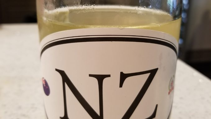 Image of a bottle of Locations NZ6 Sauvignon Blanc