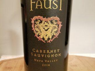 Image of a bottle of 2014 Faust Cabernet Sauvignon