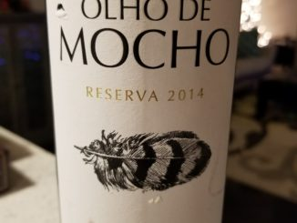 Image of a bottle of 2014 Herdade Olho de Mocho Reserva