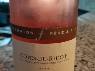 Image of a bottle of 2017 Ferraton Fere & Fils Cotes du Rhone Samorens Rose'