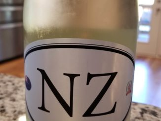 Image of a bottle of Locations Wine NZ7 New Zealand Sauvignon Blanc