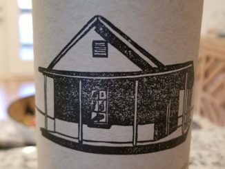 Image of a bottle of 2017 Farmhouse White