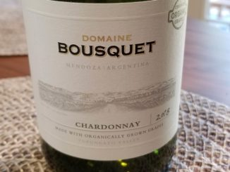 Image of a bottle of 2018 Domaine Bousquet Chardonnay