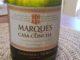Image of a bottle of 2016 Marques de Casa Concha Chardonnay