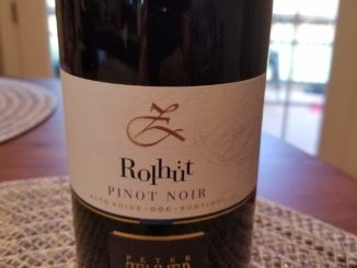 "image of a bottle of 2016 Peter Zemmer ""Rolhüt"" Pinot Noir"