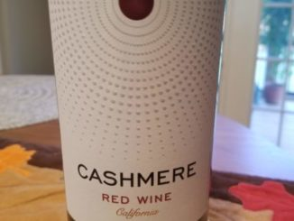 Image of a bottle of 2016 Cashmere Red Wine