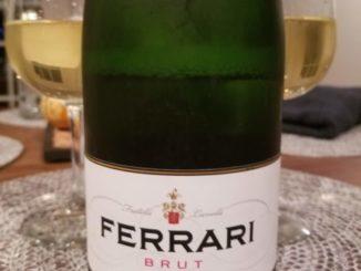 Image of a bottle of NV Ferrari Trento Brut Sparkling Wine