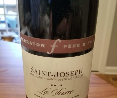"Image of a bottle of 2015 Ferraton Pere & Fils Saint-Joseph ""La Source"""