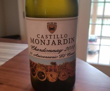 "Image of a bottle of 2018 Castillo Monjardin ""El Cerezo"" Chardonnay"