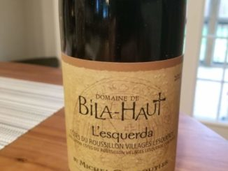 Image of a bottle of 2017 Domain Bila-Haut L'esquerda
