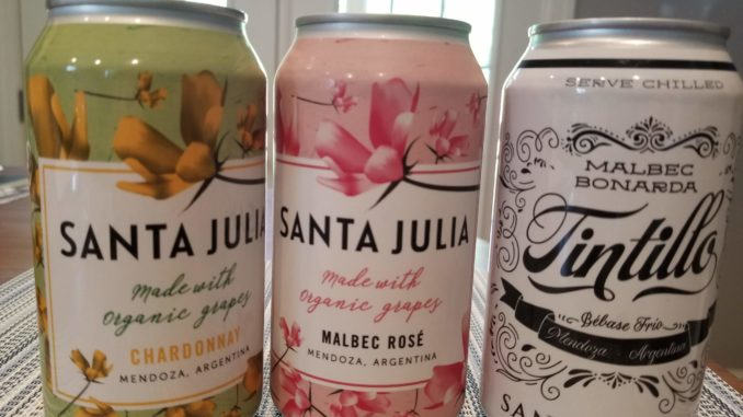 Image of Santa Julia Wine in a Can