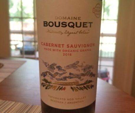 Image of a bottle of 2017 Domaine Bousquet Gran Cabernet Sauvignon