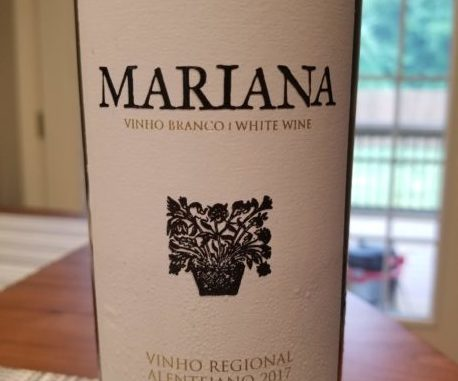 Image of a bottle of 2017 Herdade do Rocim Mariana Blanco