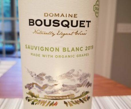 Image of a bottle of 2019 Domaine Bousquet Sauvignon Blanc