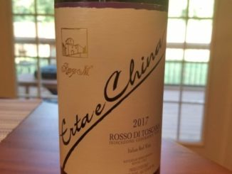 Image of a bottle of 2017 Renzo Masi Erta e China