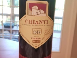 Image of a bottle of 2018 Renzo Masi Chianti