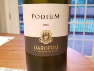 "Image of a bottle of 2016 Garofoli ""Podium"" Verdicchio dei Castelli di Jesi Classico Superiore DOC"