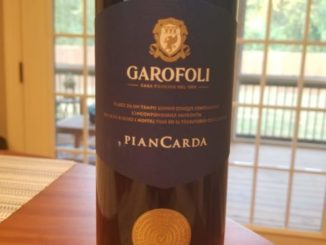 "Image of a bottle of 2016 Garofoli ""Piancarda"" Rosso Conero DOC"