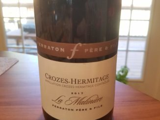 "Image of a bottle of 2017 Ferraton & Fils Crozes-Hermitage ""La Matiniere"" Red"