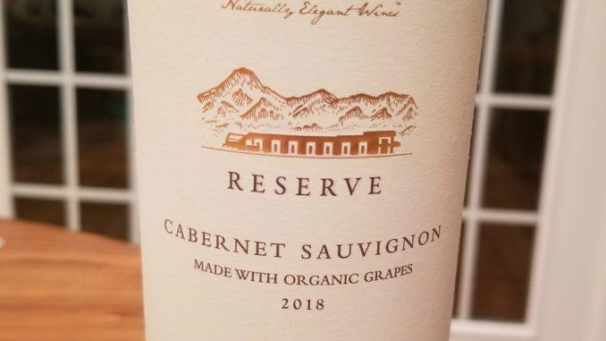 Image of a bottle of 2018 Domaine Bousquet Reserve Cabernet