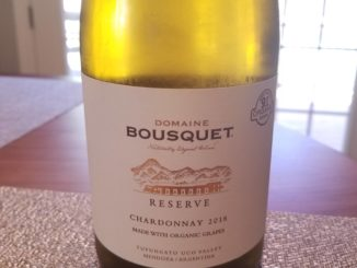 Image of a bottle of 2018 Domaine Bousquet Reserve Chardonnay