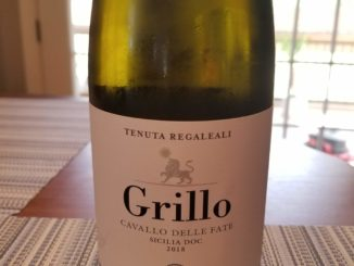 Image of a bottle of 2018 Grillo from Tasca d'Almerita