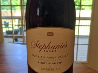 Image of a bottle of 2017 River Road Stephanie's Cuvee Pinot Noir