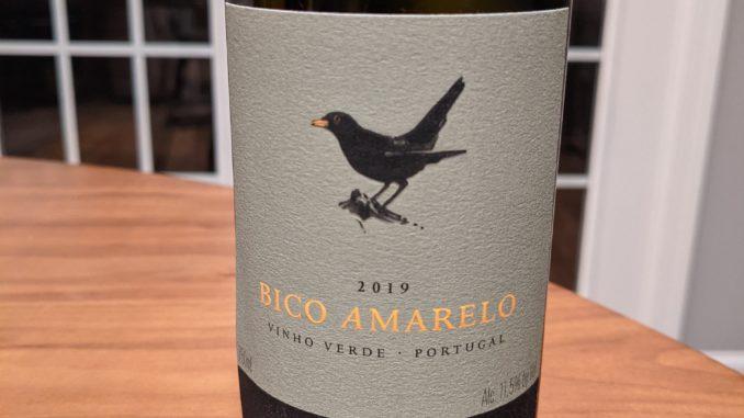 Image of a bottle of 2019 Bico Amarelo Vinho Verde