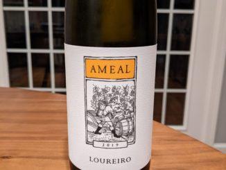 Image of a bottle of 2019 Quina do Ameal Loureiro