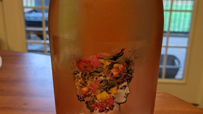 Image of a bottle of 2020 Domaine Bousquet Gaia Rose'