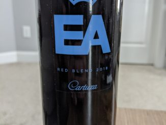 Image of a bottle of 2018 Catuxa EA Red Blend