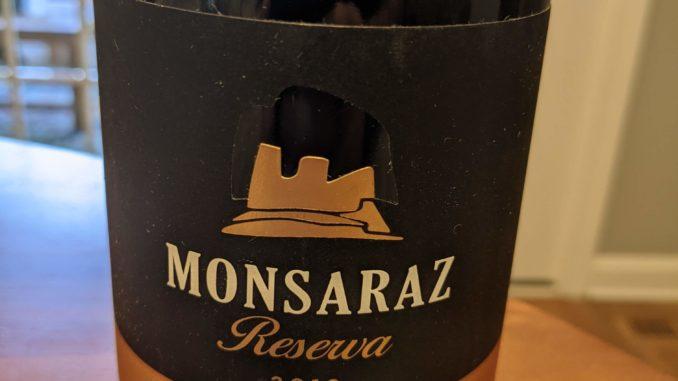 Image of a bottle of 2018 CARMIM Monsaraz Reserva Red